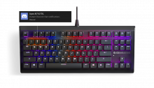 SteelSeries Apex M750 Tkl Us Keyboard 5707119034470